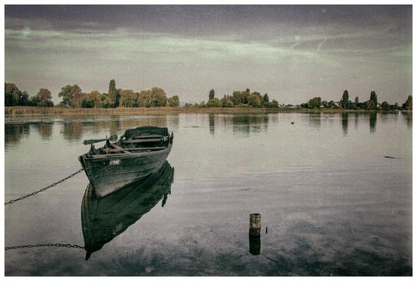 Fischerboot auf der Insel Reichenau 0210