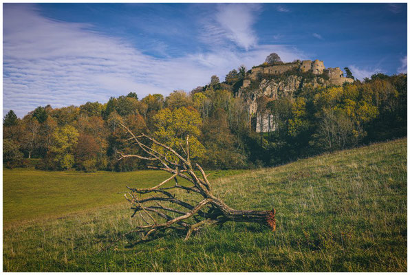 Burgruine Hohentwiel bei Singen 1261