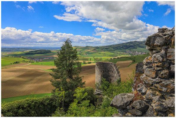 Blick vom Mägdeberg in die Hegaulandschaft  7124