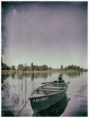 Fischerboot auf der Insel Reichenau 9623