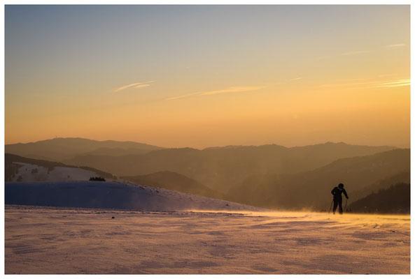 Skilanglauf auf dem Schauinsland 7826