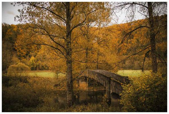 6828 Alte Steinbrücke bei Beuron