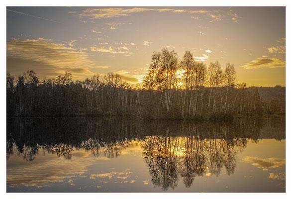 7391 Sonnenuntergang am Nillsee
