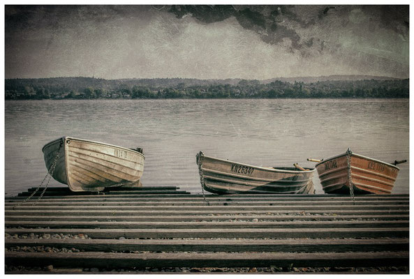Fischerboote auf der Insel Reichenau  0234