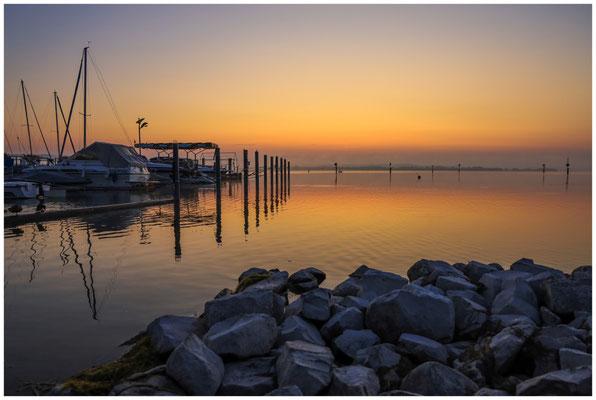 Jachthafen Moos mit Blick auf den Zeller See 0493
