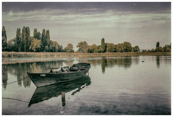 Fischerboot auf der Insel Reichenau 0213