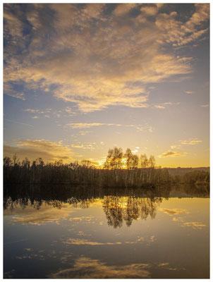 Sonnenuntergang am Nillsee 7392