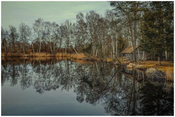 Moorsee im Pfrunger-Burgweiler Ried 1923