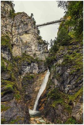 Pöllatschlucht mit Marienbrücke 1076