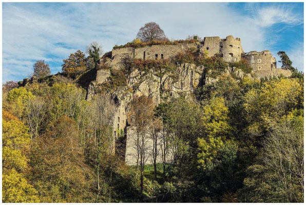 Burgruine Hohentwiel bei Singen 1254