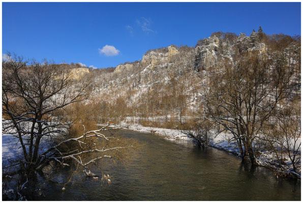Die Donau bei Beuron 5756