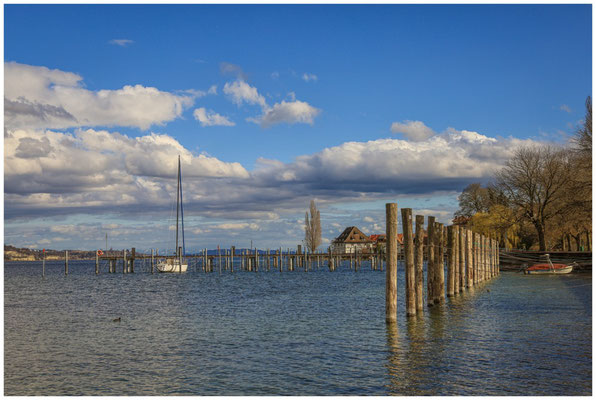 Bodman mit Blick auf die alte Greth und den Überlinger See 2015