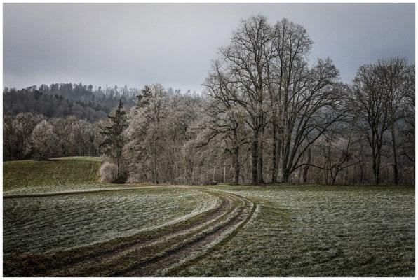 Winterlandschaft bei Inzigkofen 1693