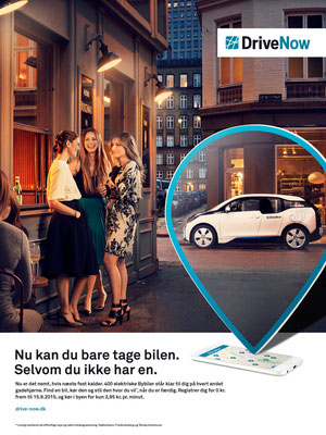 Client : Drive Now    Agency : Entry / Tom Olsen