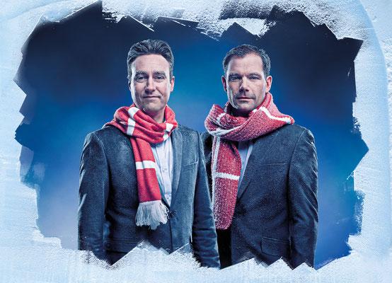 Sport VM Ishocky Jimmy Bøjgaard og Peter Hirsch