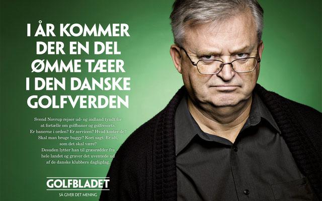 Client: Golfbladet          Agency: Totski