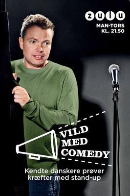 "Client: Zulu ""Vild med Comedy""- Rasmus Nøhr  -        Agency: Tv2 Networks"