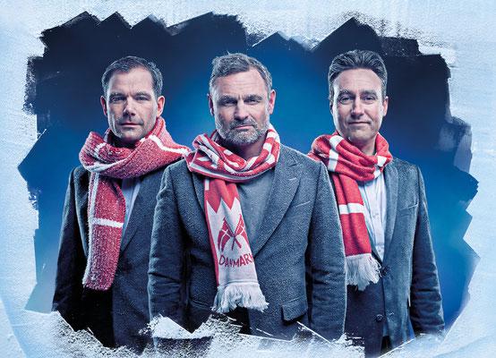 Tv2 Sport VM Ishocky Claus Elming, Jimmy Bøjgaard og Peter Hirsch