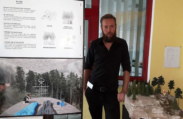 """Jung-Architekt Robert Ilgen sucht Umsetzungs-Partner für seine """"Butze"""" - Abenteuerübernachtsmöglichkeiten in freier Natur."""