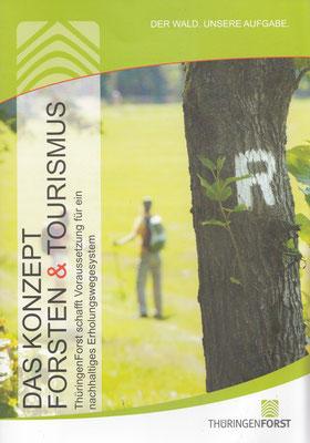 """Broschüre Konzept """"Forsten& Tourismus"""""""