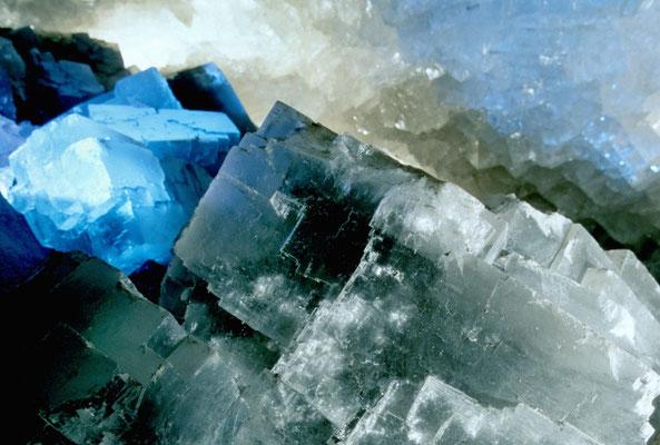 Salzkristalle Erlebnisbergwerk Merkers