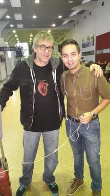 """Entrevista a Jorge Serrano, vocalista de los """"Auténticos Decandentes"""" en el año 2014"""