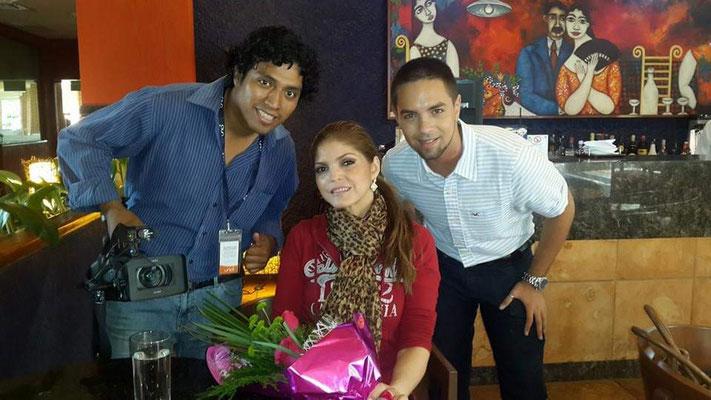 Entrevista a la cantante Ana Bárbara, en el año 2014