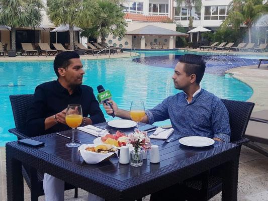 Entrevista al periodista Ismael Cala, en el año 2018