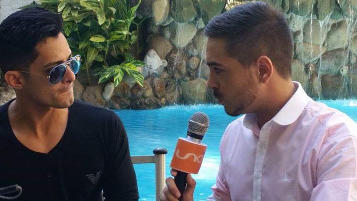 Entrevista al cantante Ken-Y, en el año 2015