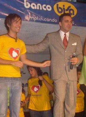 """Entrevista al cantante Cristian Castro, en la Telemaratón de """"ATB"""", en el año 2009"""