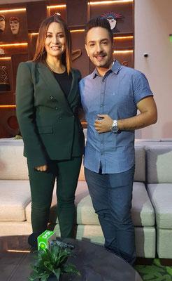 Entrevista a la cantante Myriam Hernández, en el año 2018
