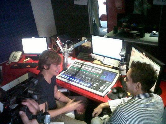 Entrevista al cantante Carlos Baute, en Radio Disney, en el año 2012