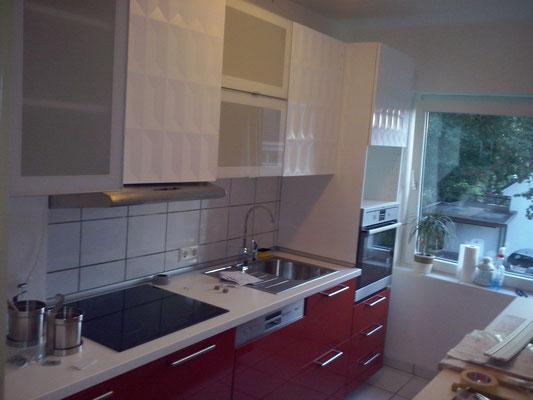 IKEA Küche montiert