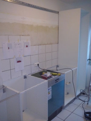 IKEA Küchen Aufbau