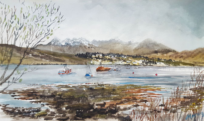 Springtime, Portree Bay