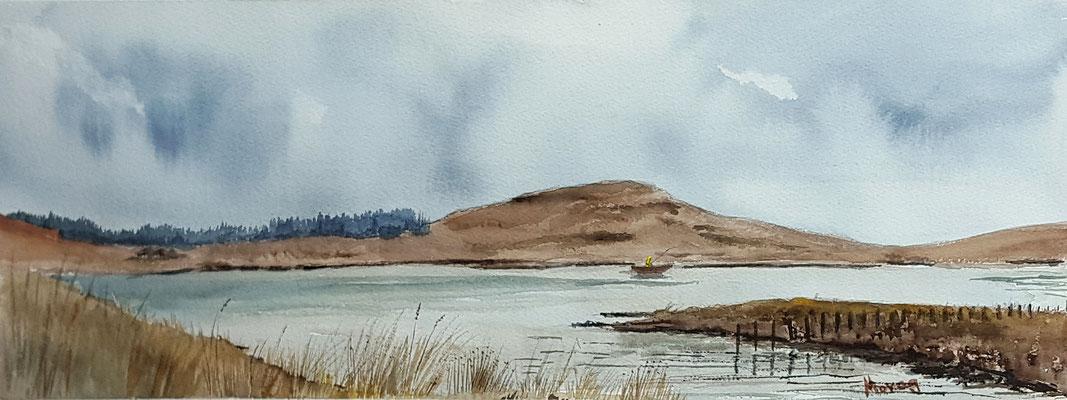 Fishing the Storr Loch