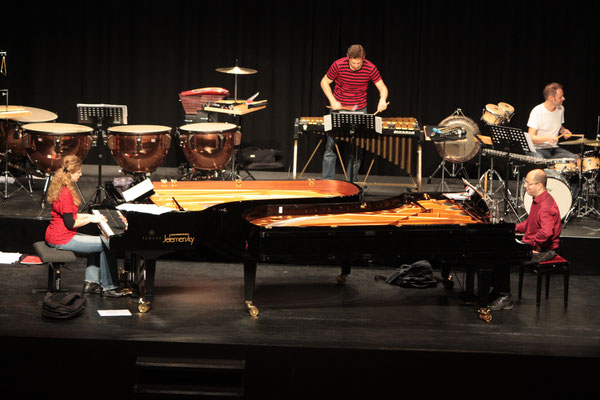 Piano meets percussion