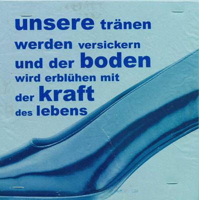 TASCHENBILD | Plastiksackerl | 20x20 cm | 2009 | Tatjana Zinner
