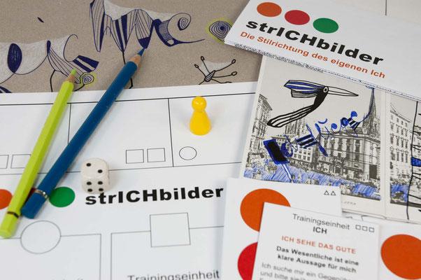 KUNSTzeich(n)en - strICHbilder | Details | Foto: manutober