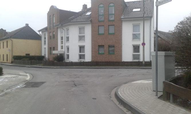 Ecke Mozartstr. Beethovenstr. heute