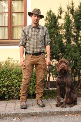 Florian Maier mit Ares von der Säuleneiche
