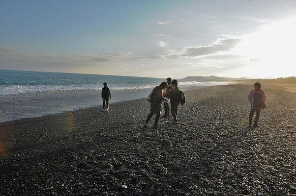いつまでも名残の尽きない七里御浜。