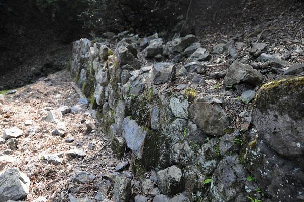 現存していた窯跡の正面