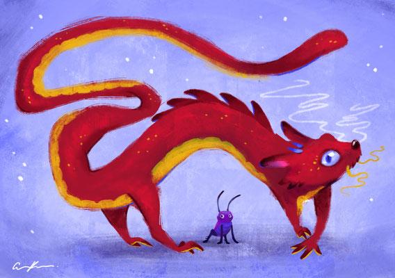 Mulan - Mushu & Cri-kee