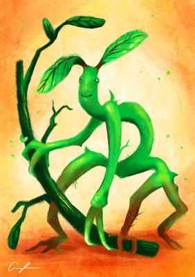 Fantastic Beasts and Where to Find Them - Bowtruckle