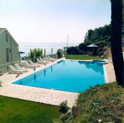 8 Bordo piscina / Ardesia bugnata