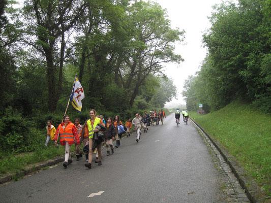Deux troupes se croisent à Montépilloy