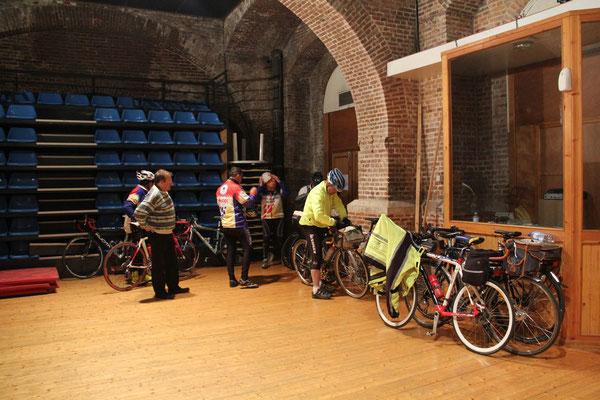 Salle à bicyclettes