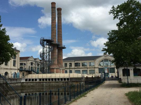 Les anciennes usines réaménagées