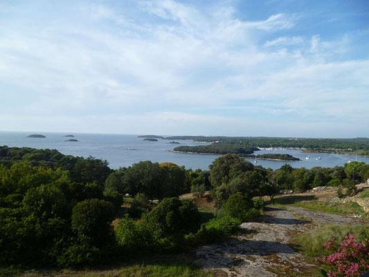 L'Adriatique parsemée d'îles